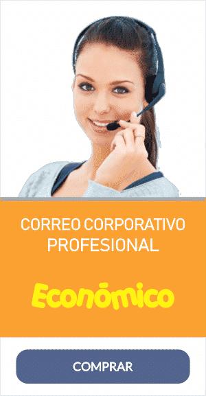 correo corporativo profesional