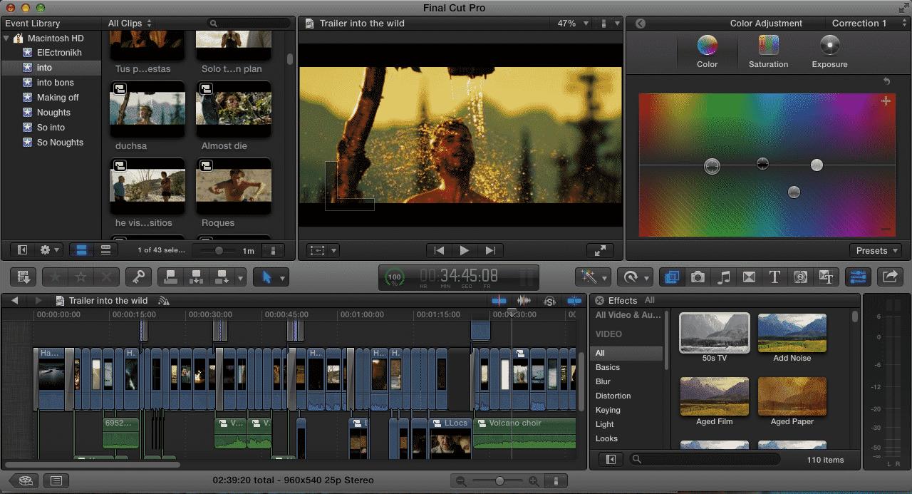 final cut pro videos
