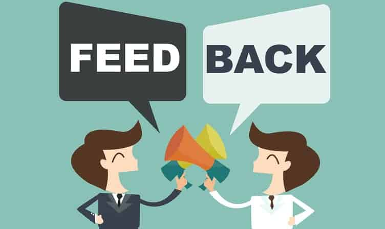 Debes aprender a procesar los feedback de los clientes