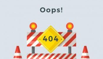 error 404 no found