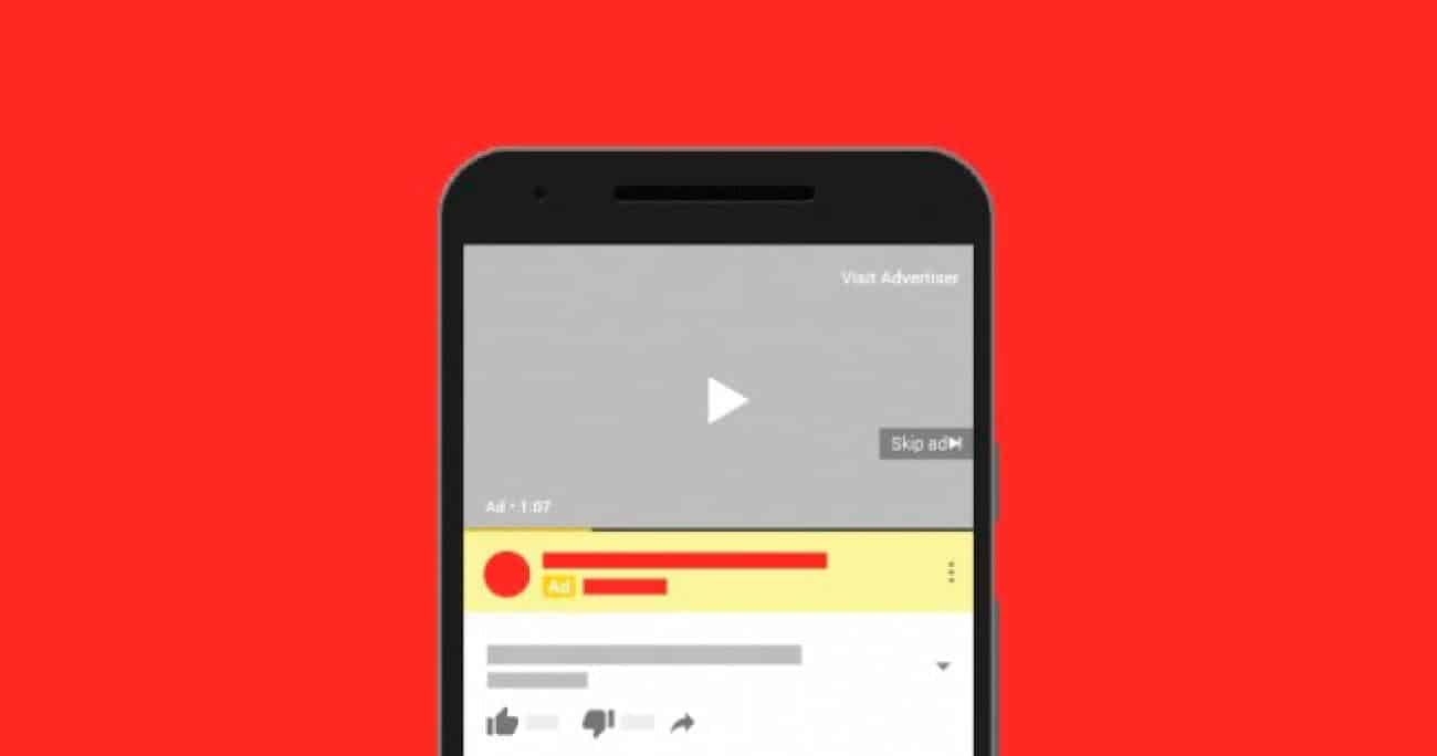 formatos de anuncios de youtube