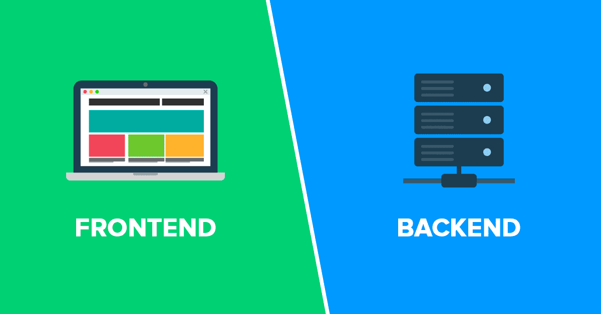 frontend y backend