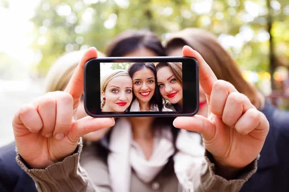 qué es una selfie