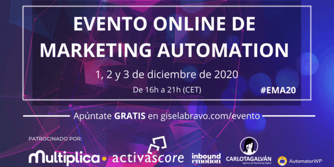 evento online de marketing automation